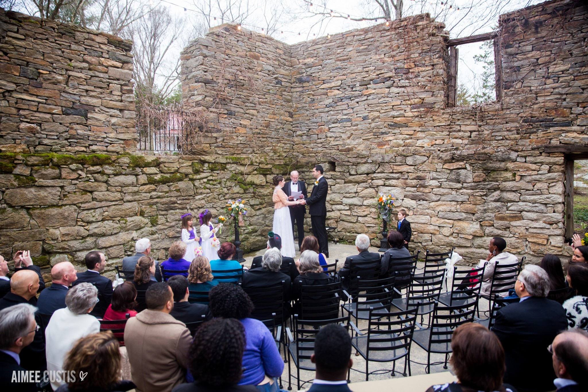 the Mill at Fine Creek winter wedding photography
