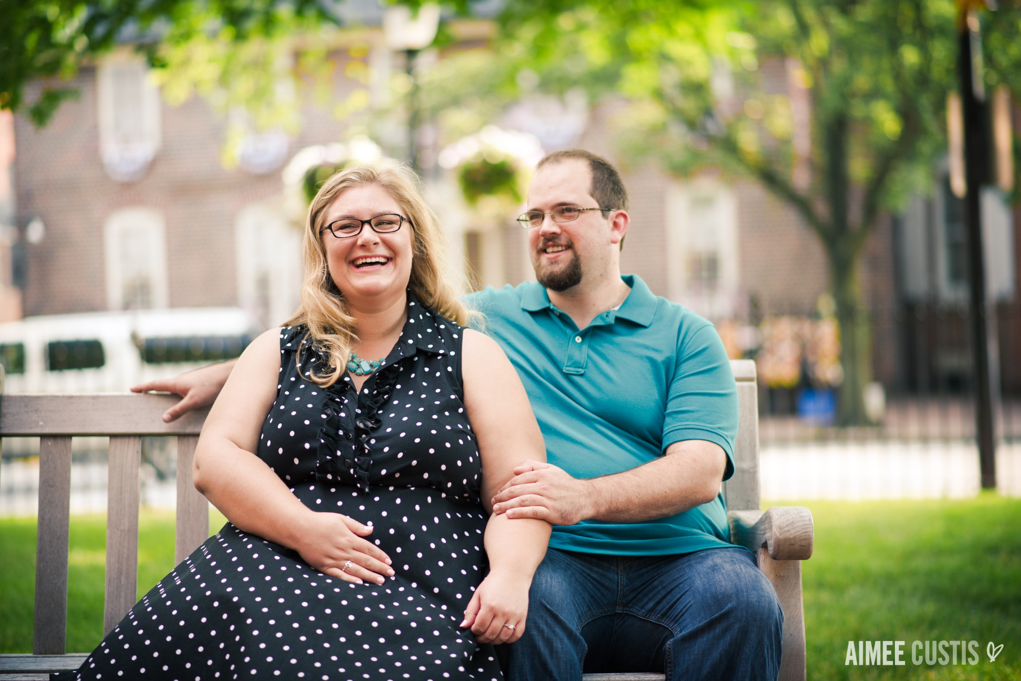 Annapolis Church Circle engagement session