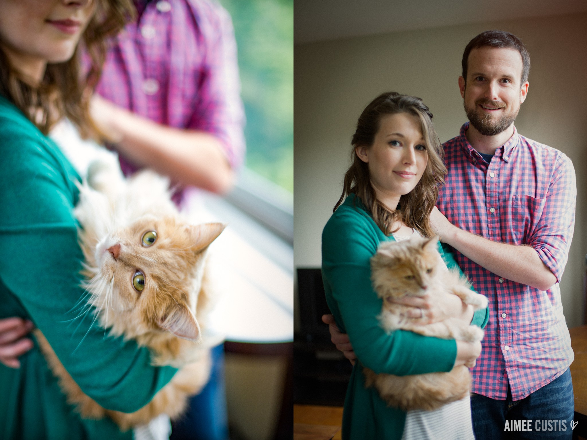 at home engagement session ideas