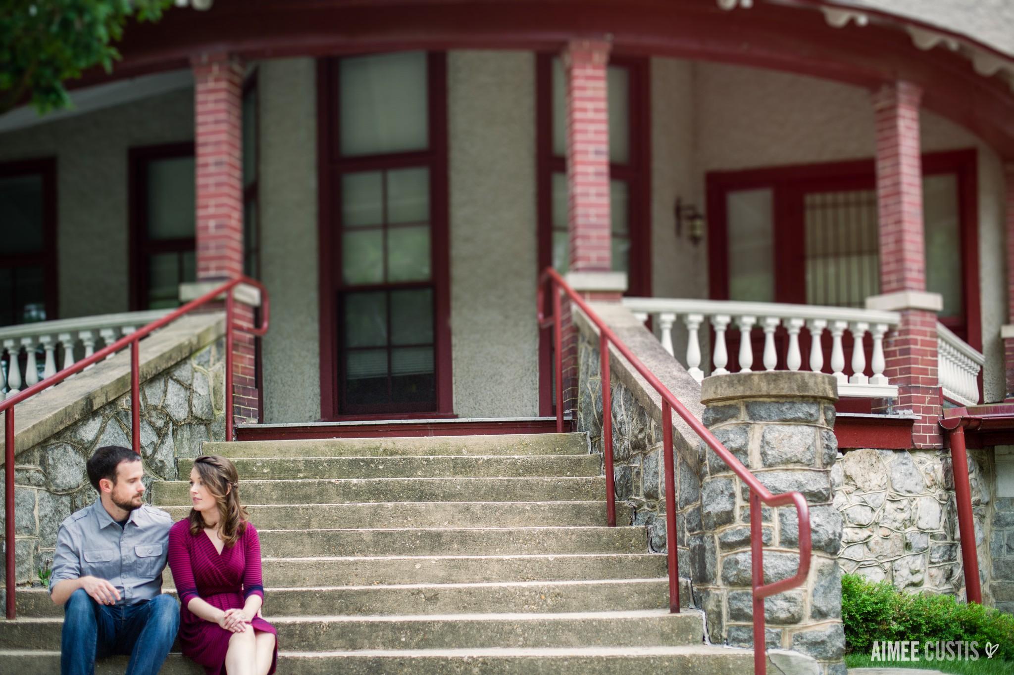 National Park Seminary engagement