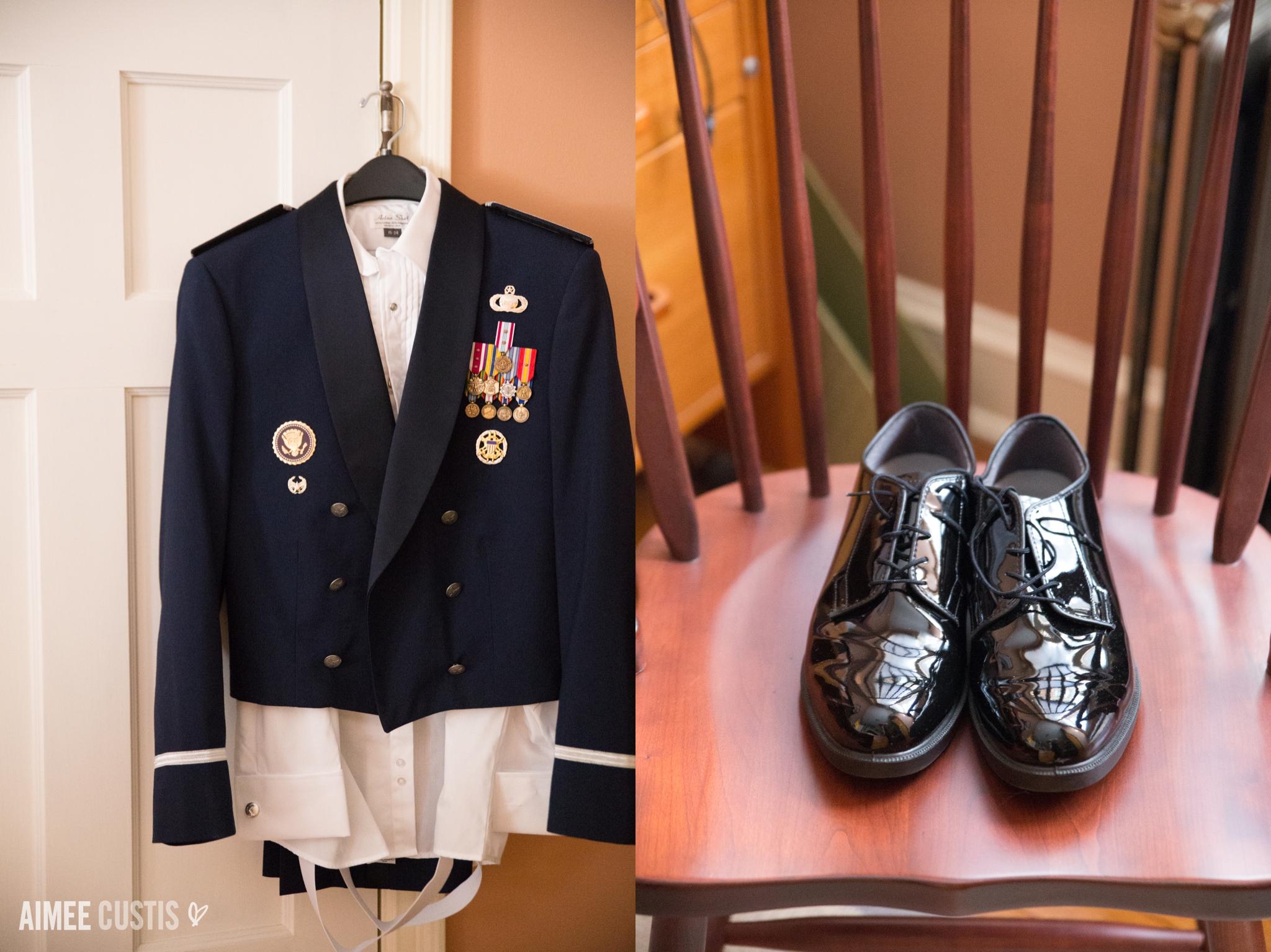 DC military wedding photography