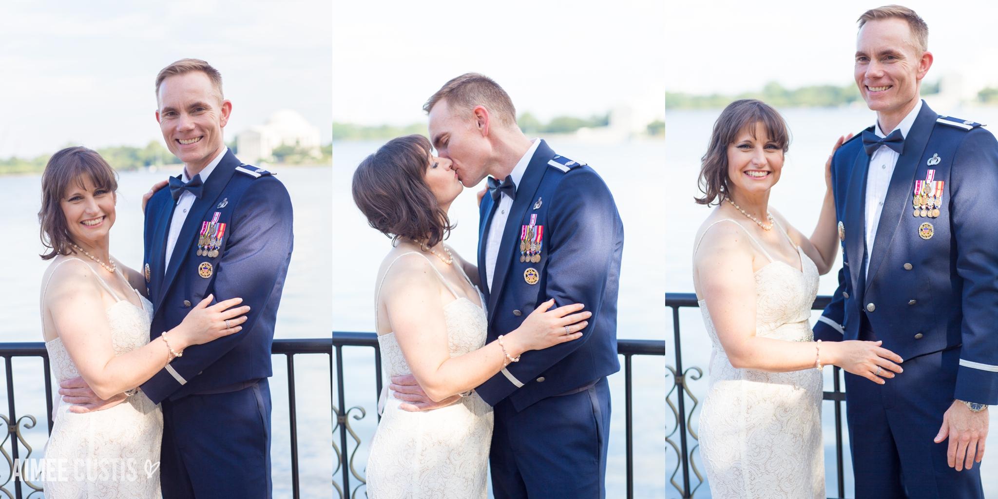 DC War Memorial wedding photography