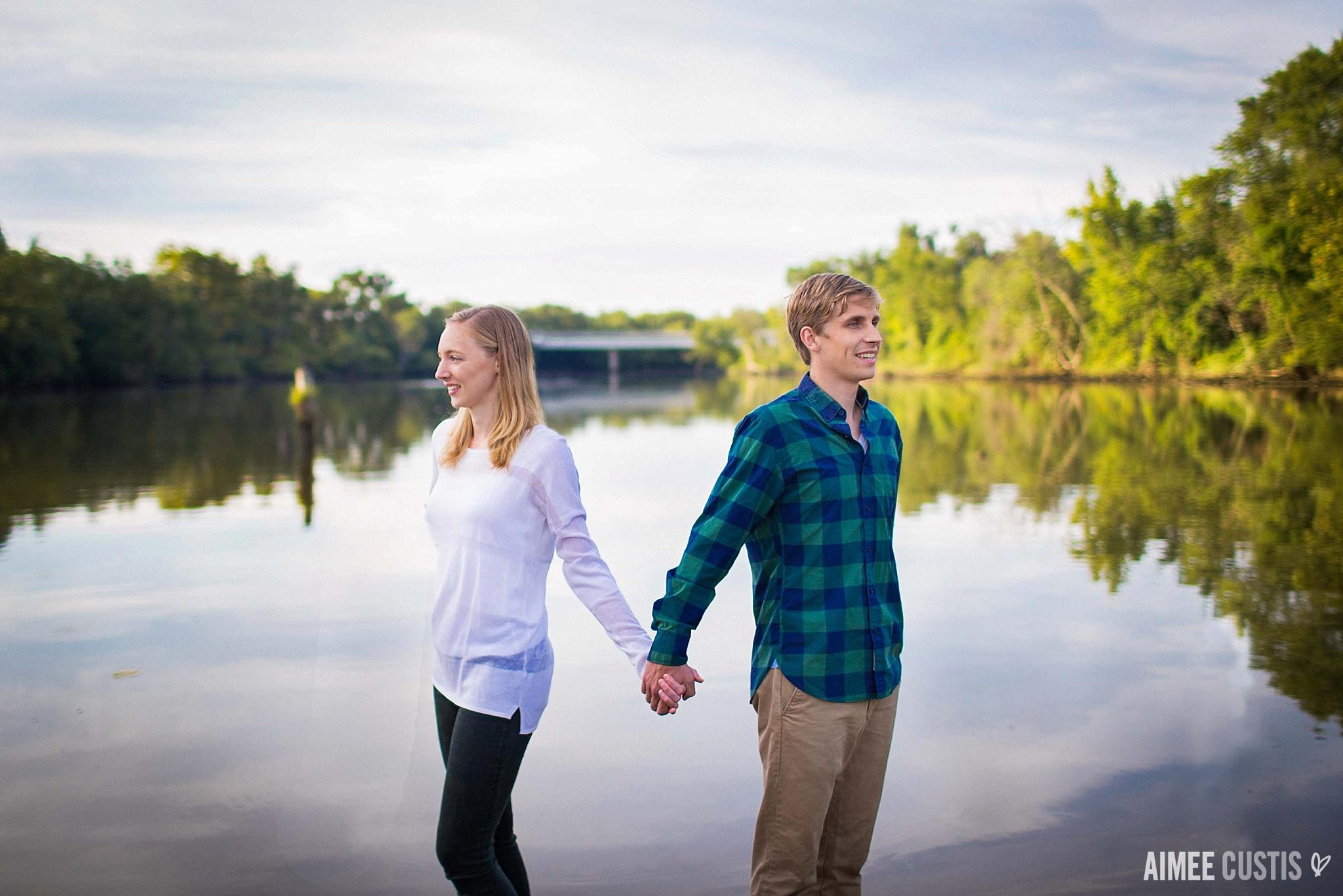 Kingman Island engagement photography
