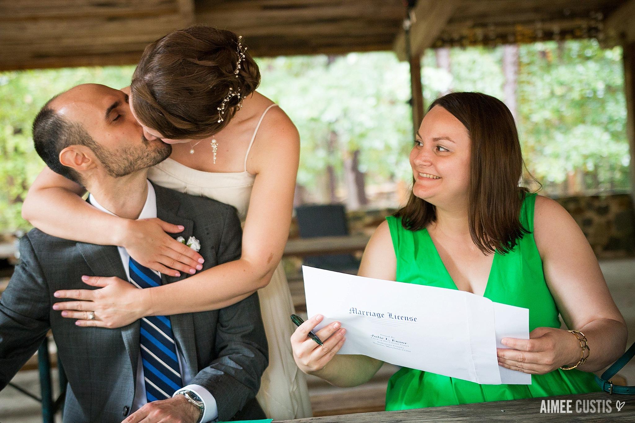 Patapsco Valley State Park wedding photography