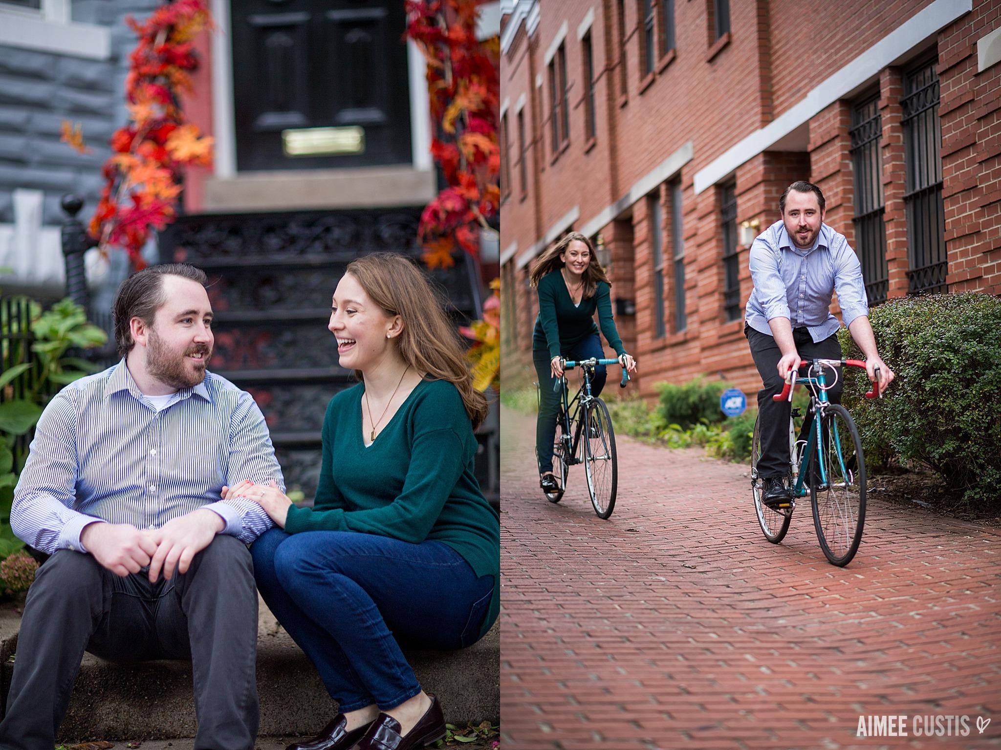 DC Capitol Hill engagement photos
