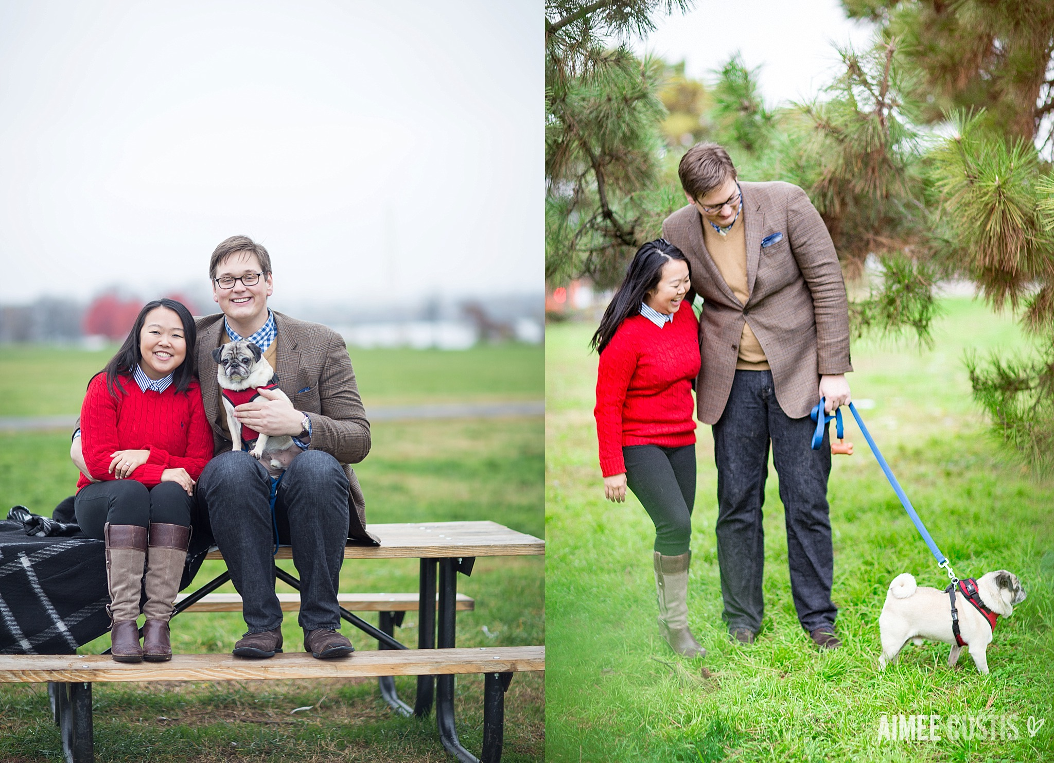 Gravelly Point engagement session