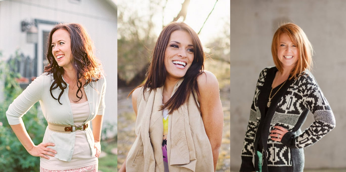 Melissa Jill, Jasmine Star, and Katelyn James. Images used with permission