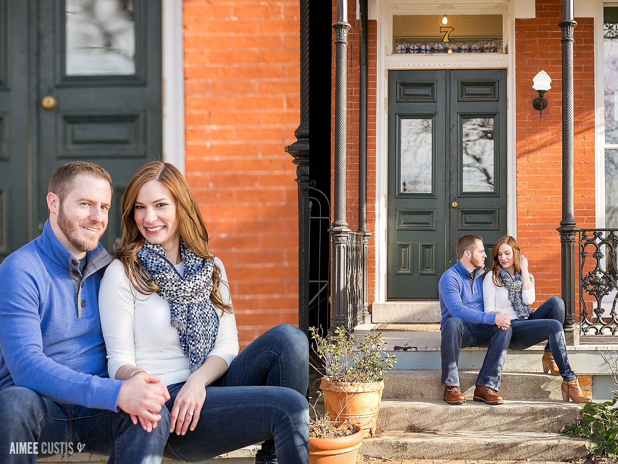 Church Hill RVA engagement photography