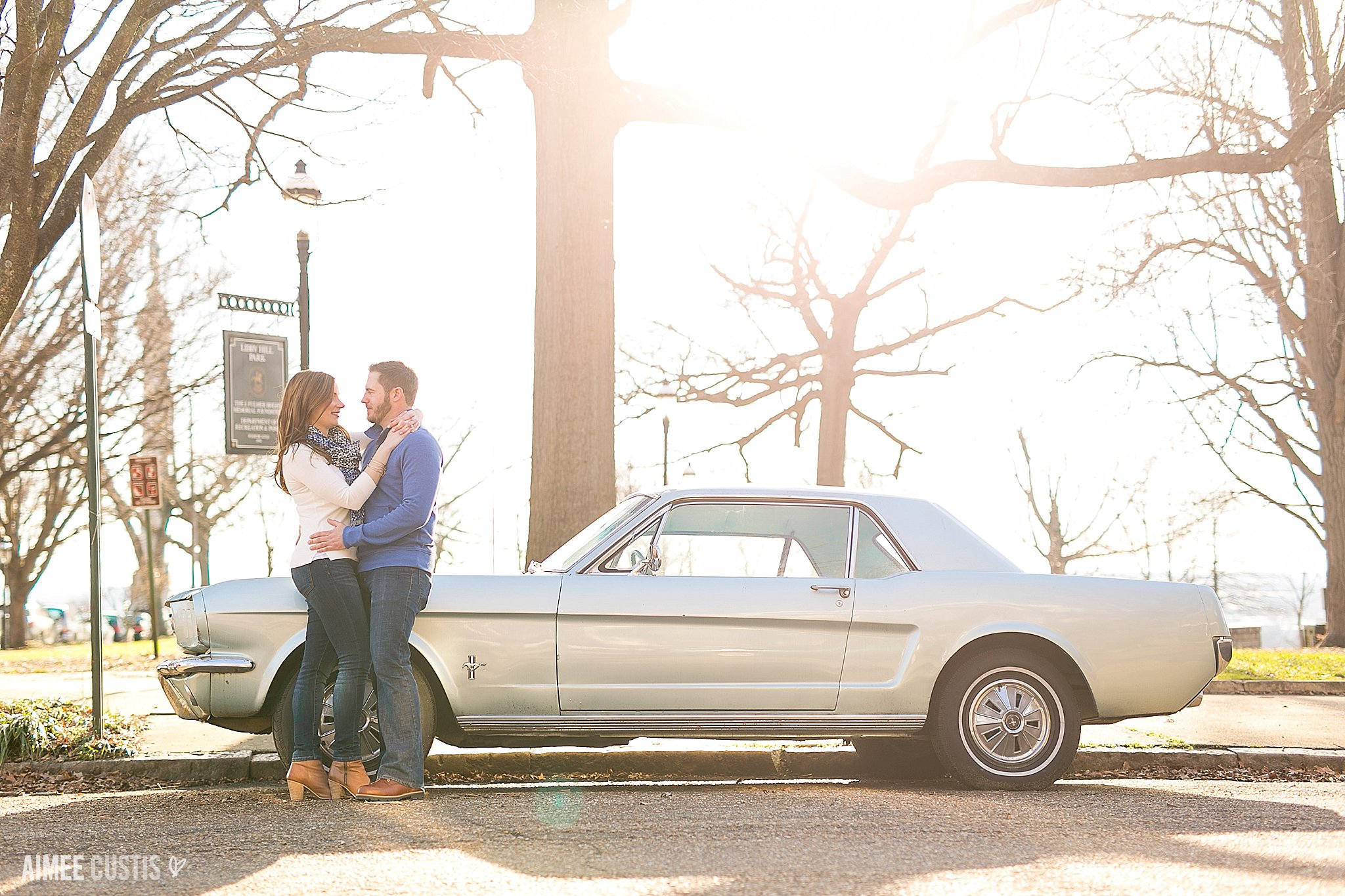 Libby Hill Park RVA engagement photography