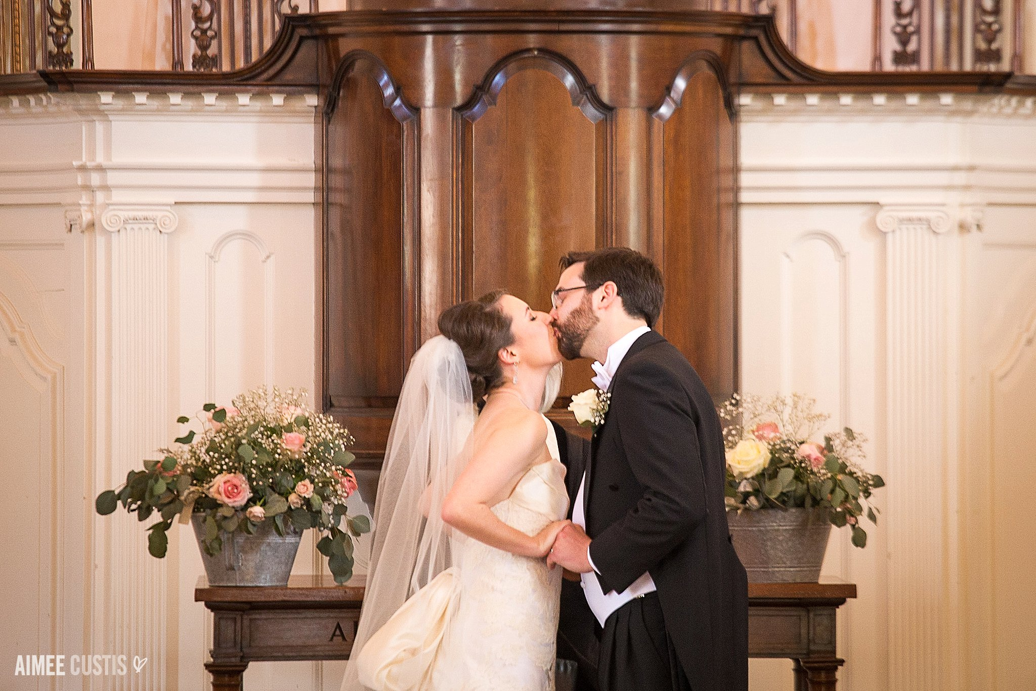 Darcy + Clark's romantic DC wedding day at All Souls Church