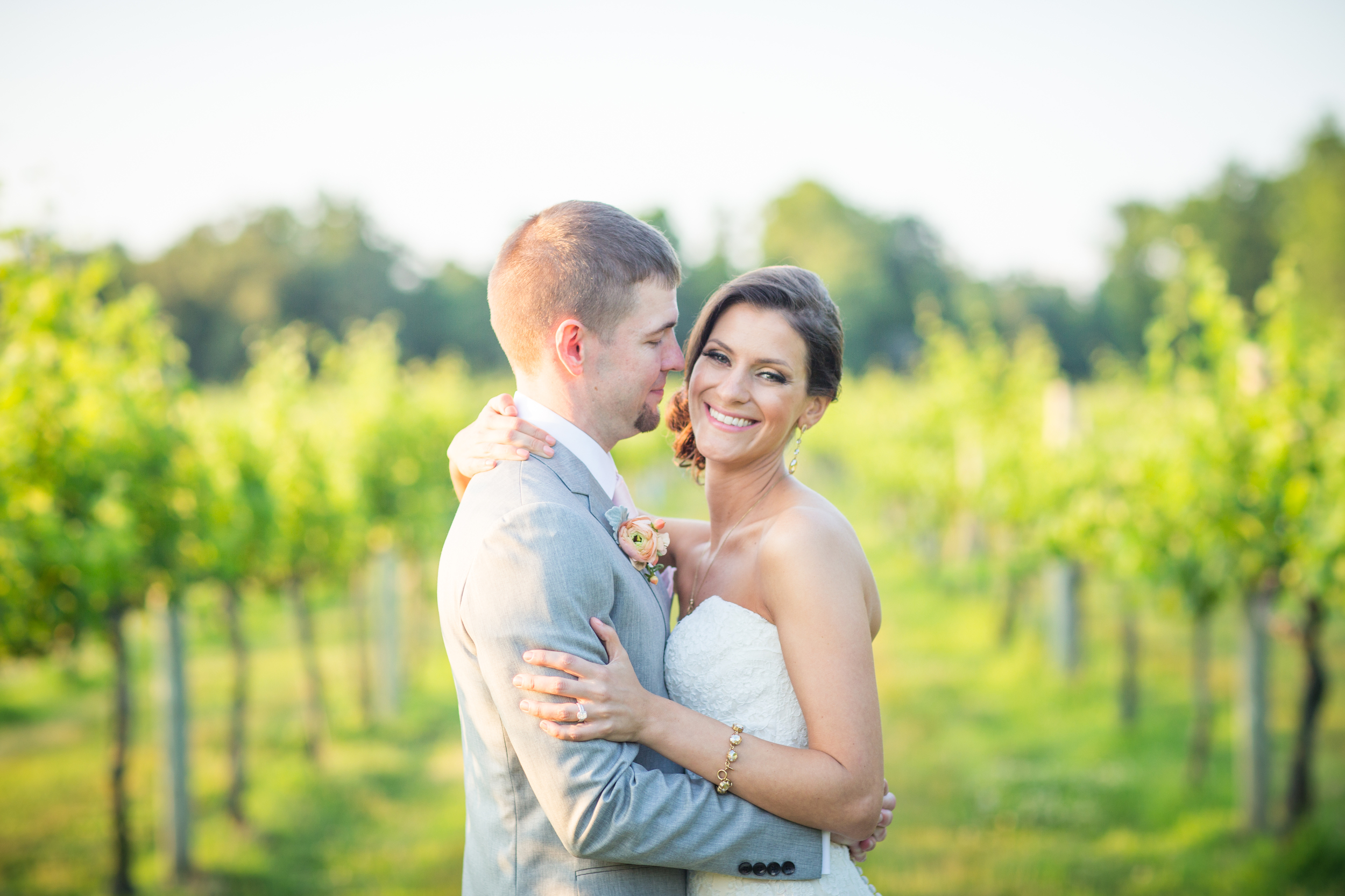Virginia vineyard wedding at New Kent Winery