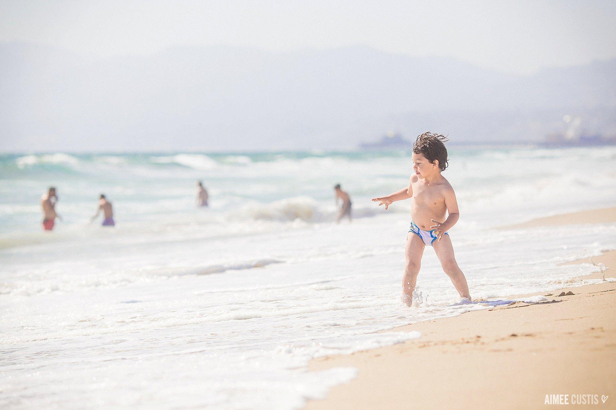 santa monica california beach