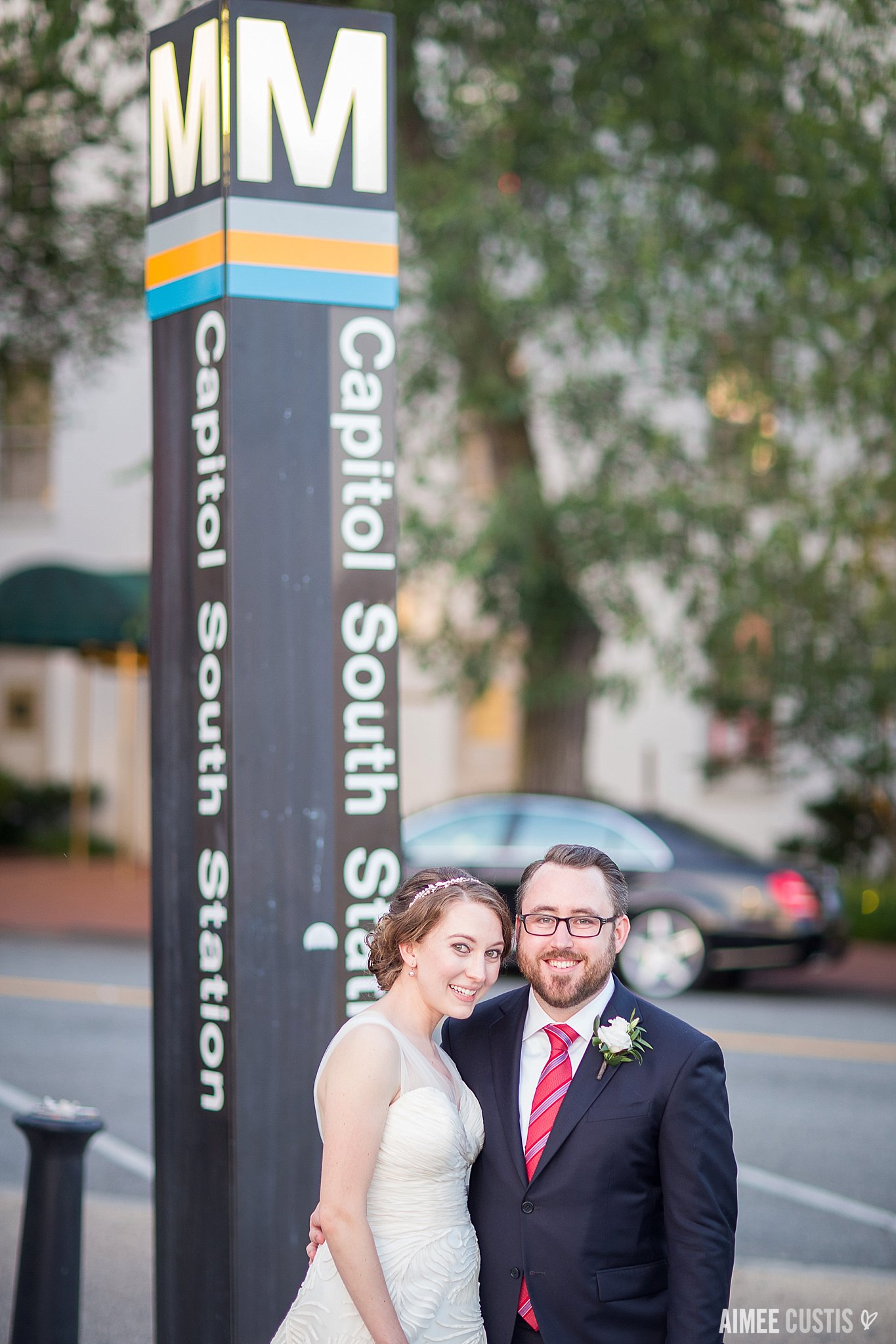 Metro WMATA wedding photos DC