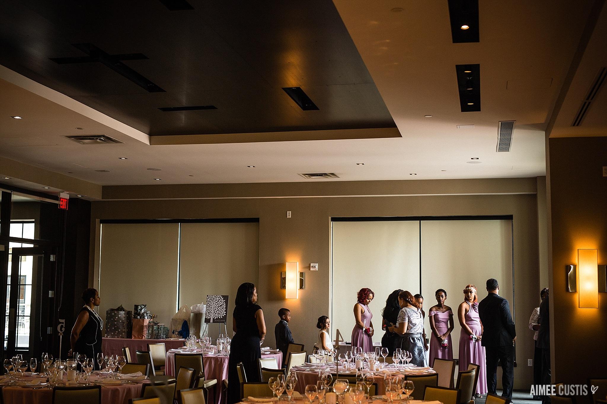 Wolfgang Puck Sunset Room at National Harbor wedding photography