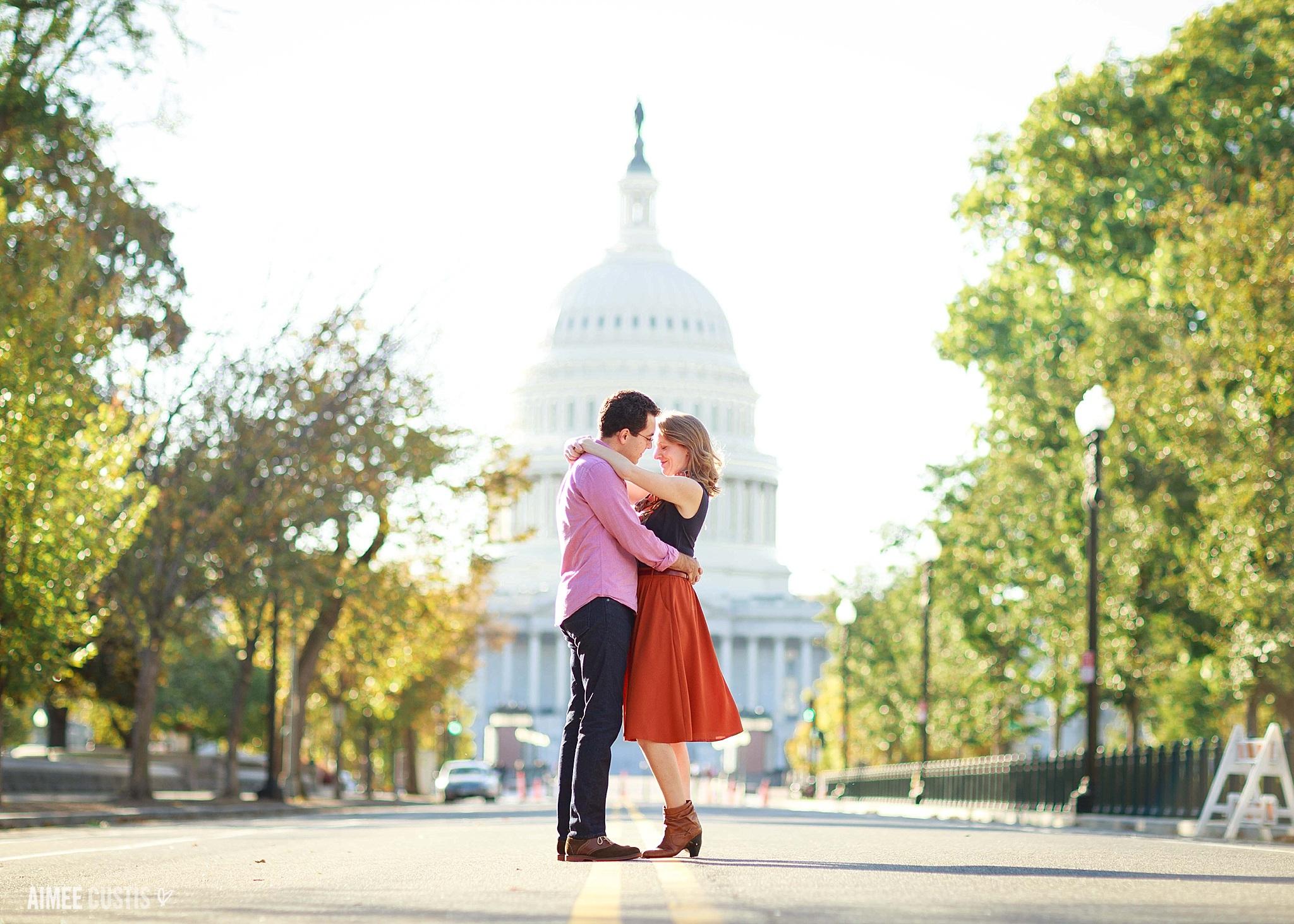 DC US Capitol engagement session