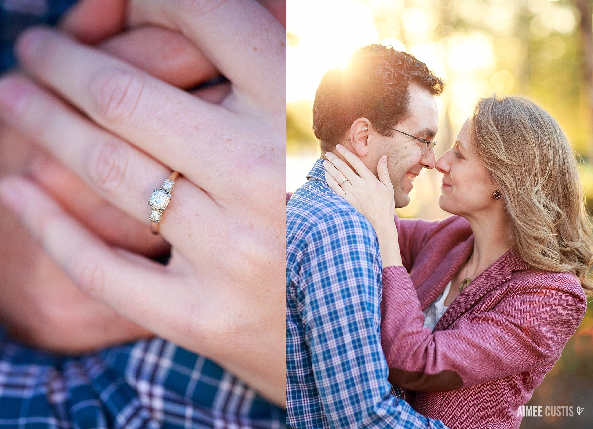 DC Navy Yard engagement session