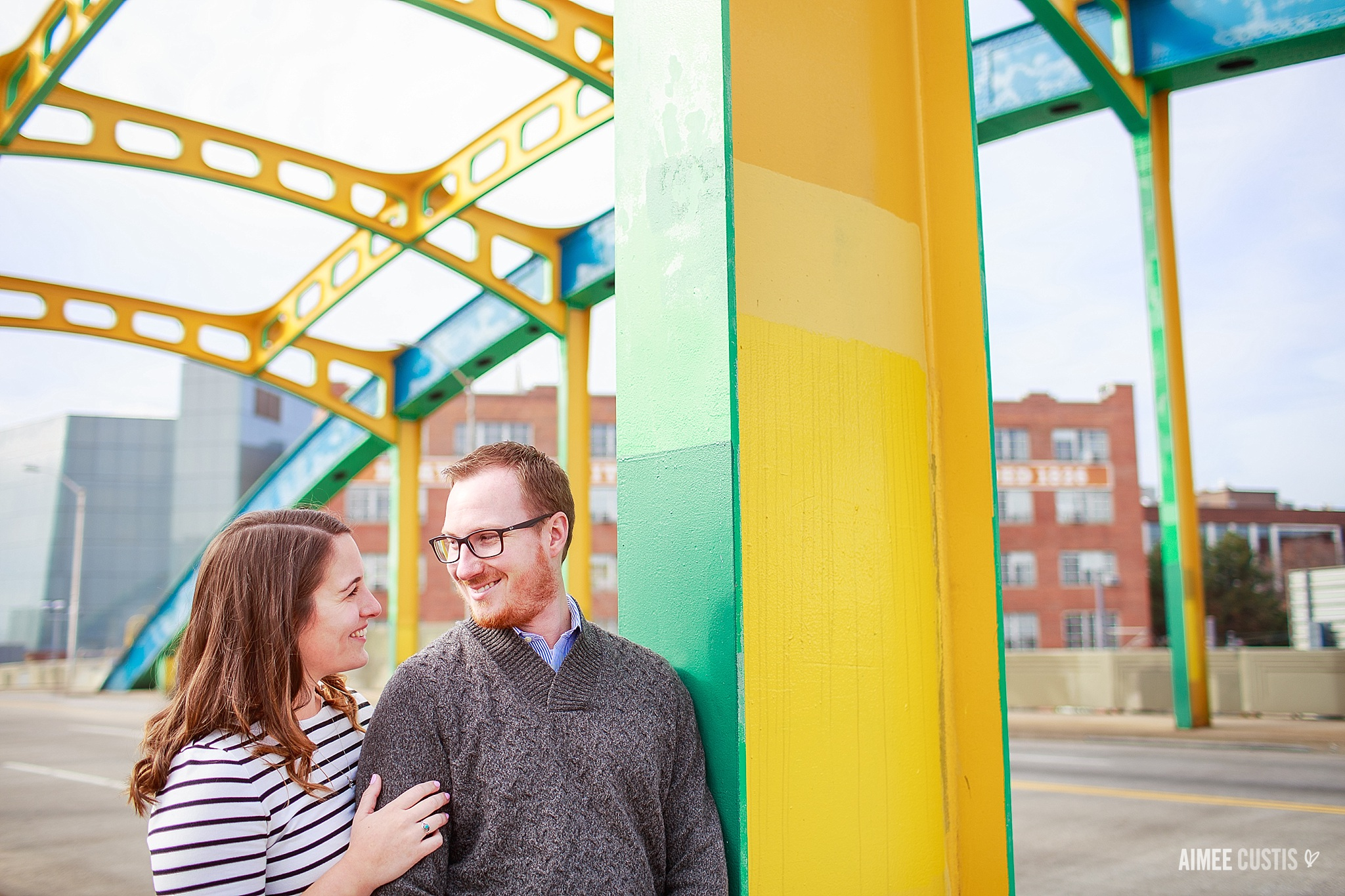Baltimore city engagement photography