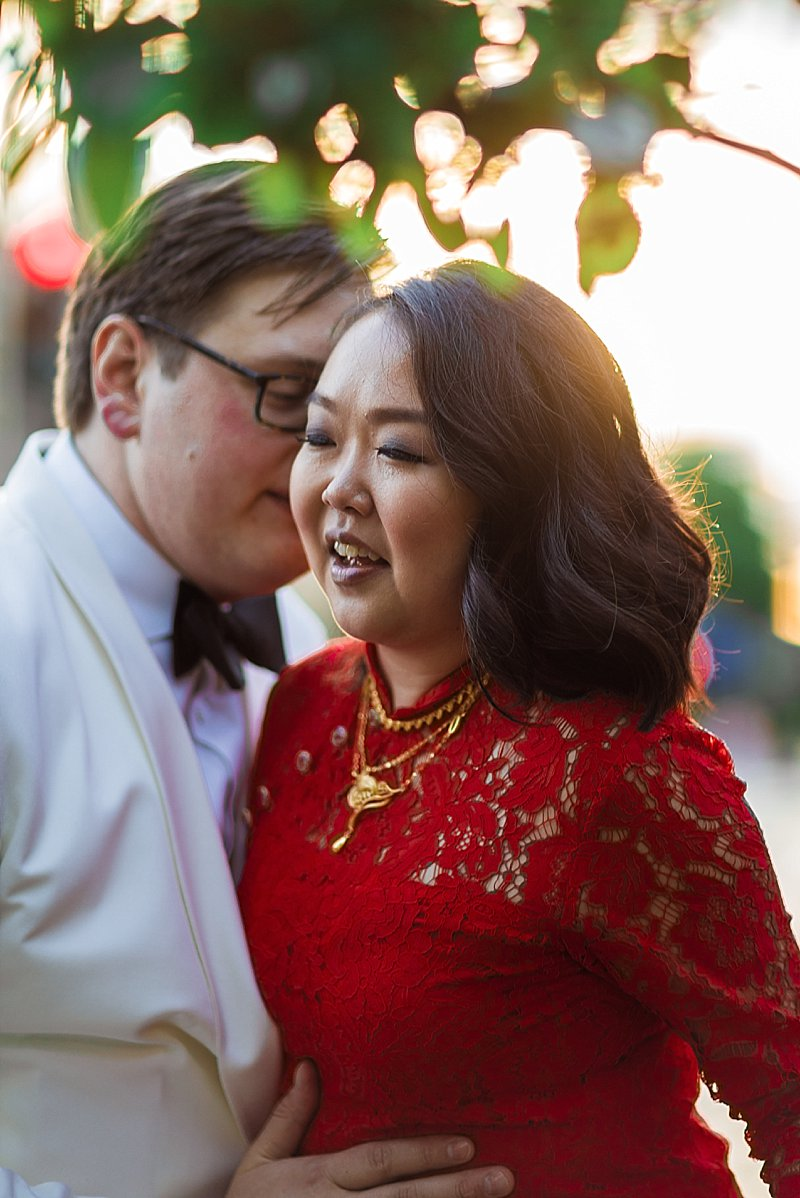 modern chinese wedding photography