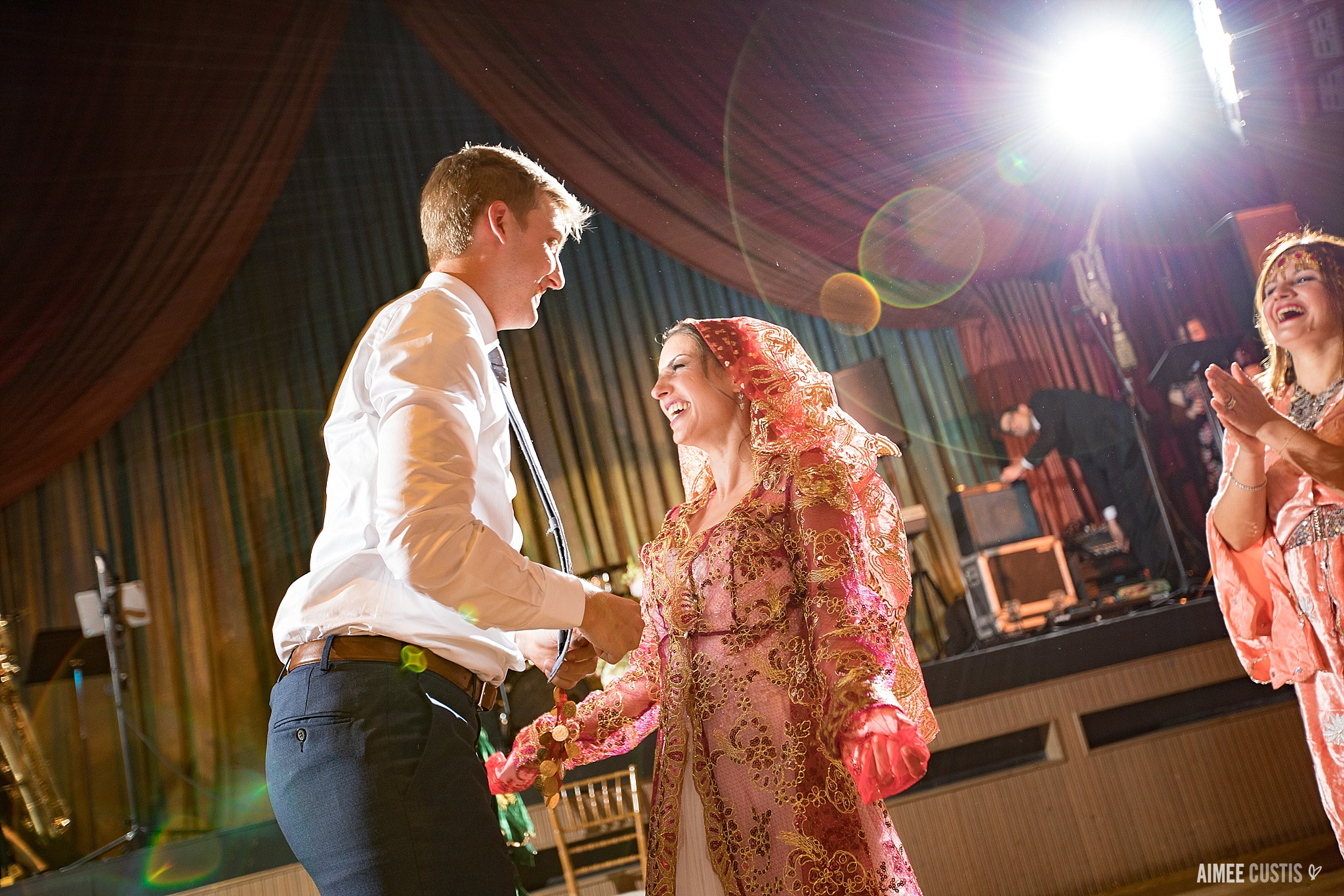 The Barns at Wolf Trap Childrens Theater wedding photography Aimee Custis Photography Turkish dancing