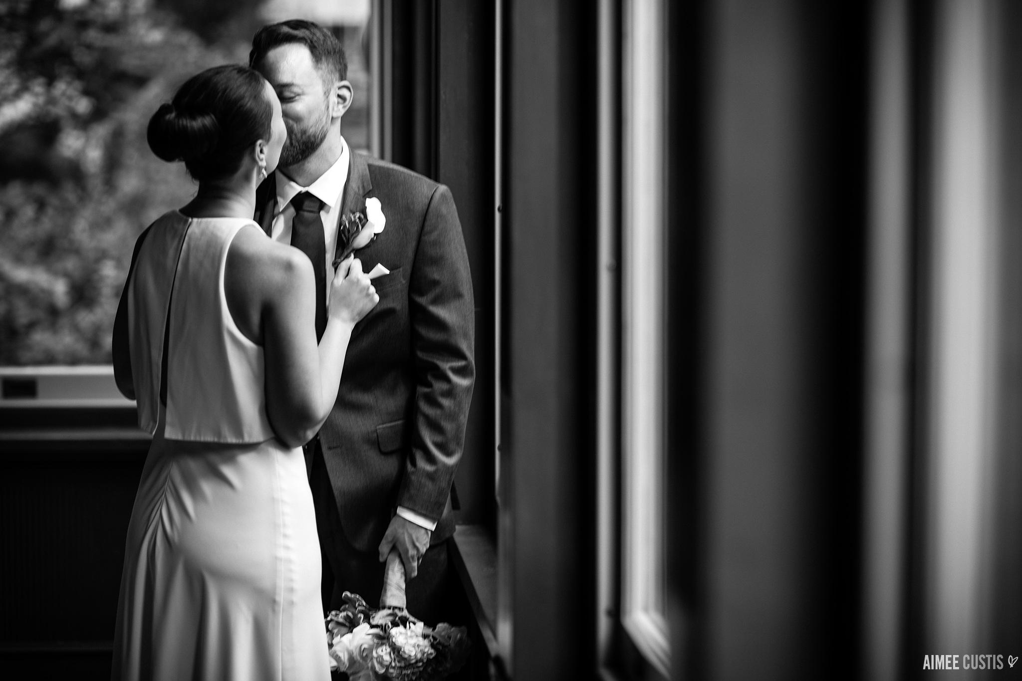 best Washington DC elopement photographers Heurich House wedding photography