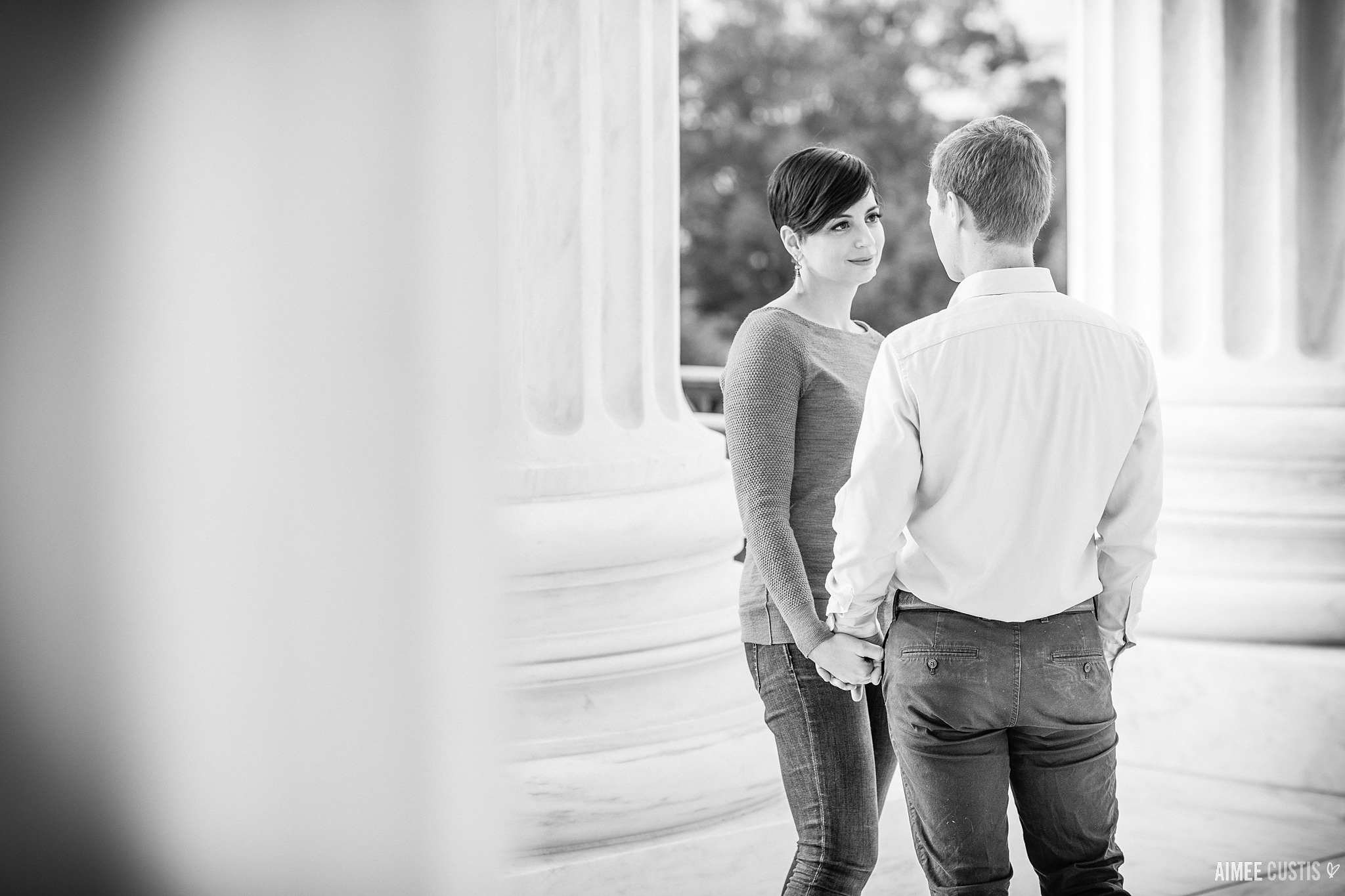 Best Washington DC engagement photographers Capitol Hill DC engagement