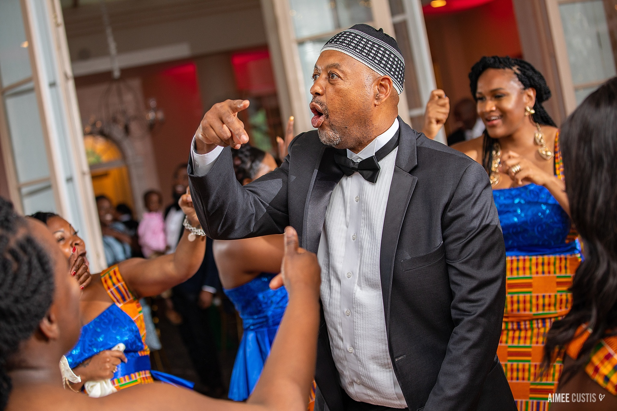 best Washington DC wedding photographer people of color african ceremony