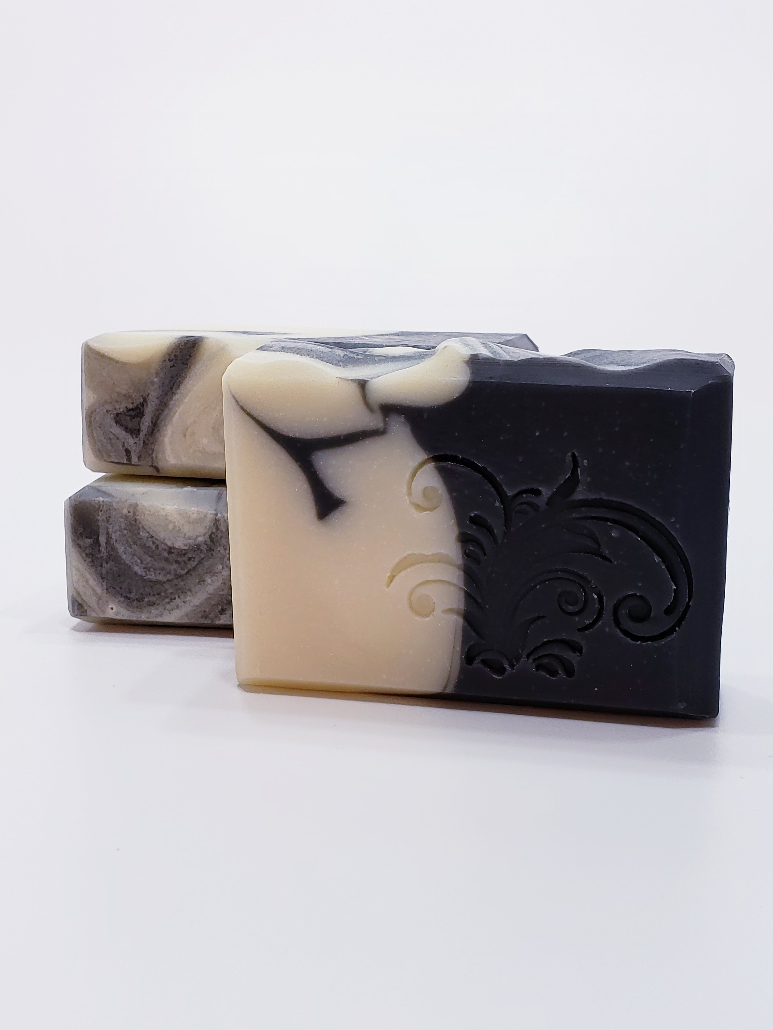 Black Frizzle Soap