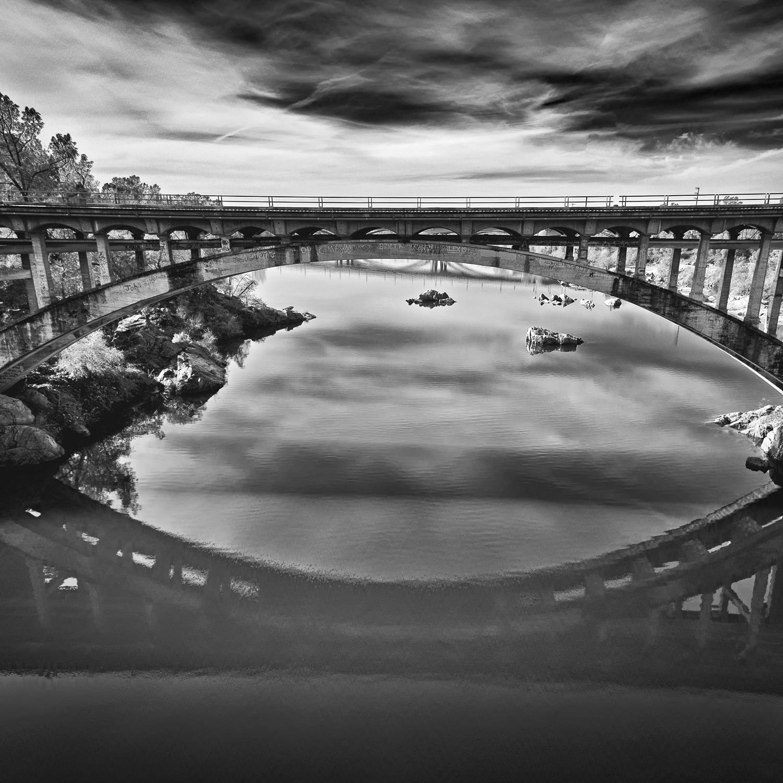 Rainbow Bridge, American River, Sacramento County, California