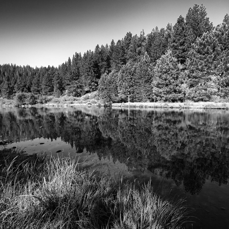 Glide, Little Truckee River, Sierra County, California