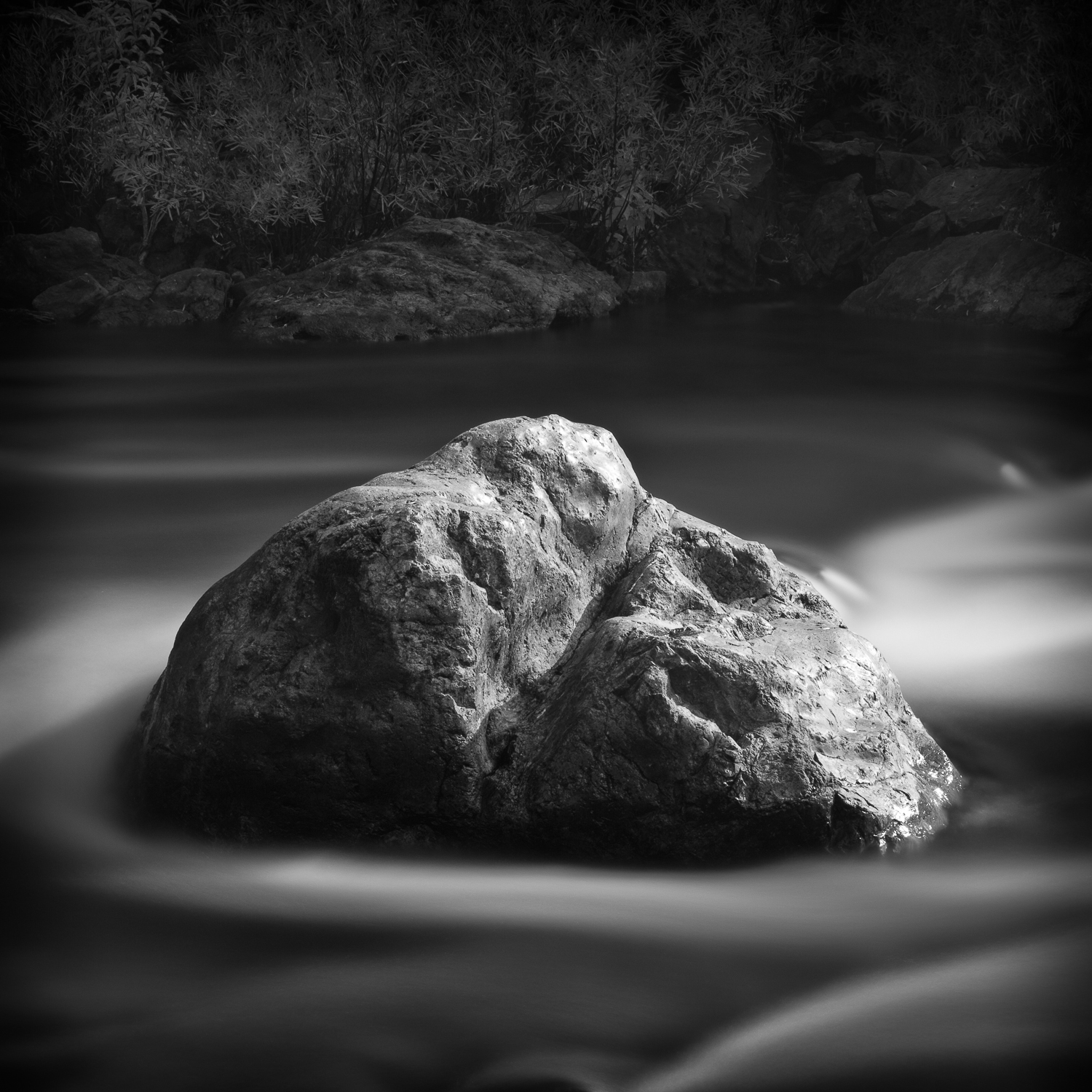 Boulder, North Fork American River, Placer County, California