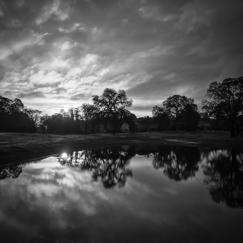 Ephemeral Wetland at Sunrise (iPhone 6 Plus)