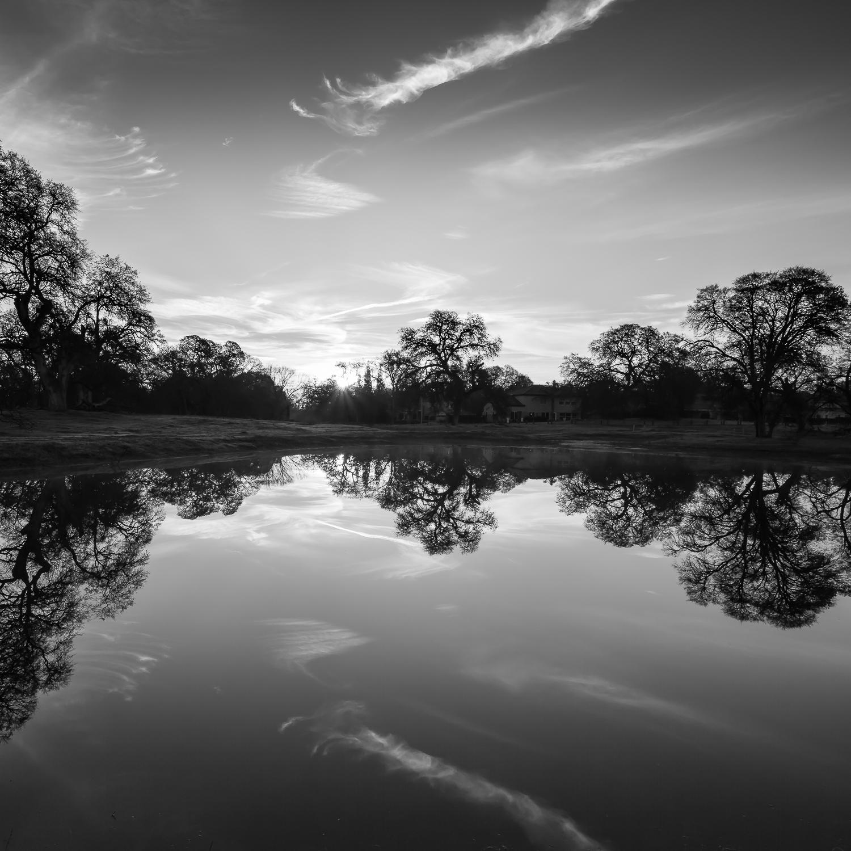Sunrise Over Pleasant Grove Pond, Study 2