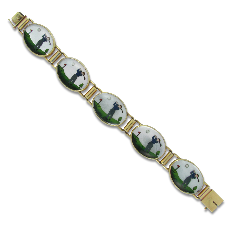 Crystal Golf Bracelet
