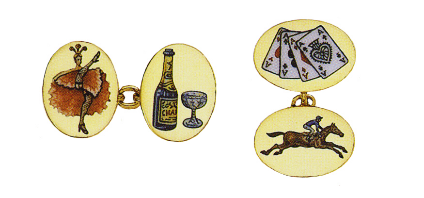 Road to Ruin:Four Vices Cufflinks.jpg