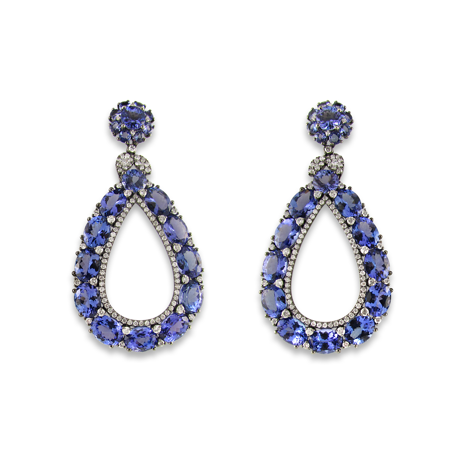 Tanzanite Dangle Earrings