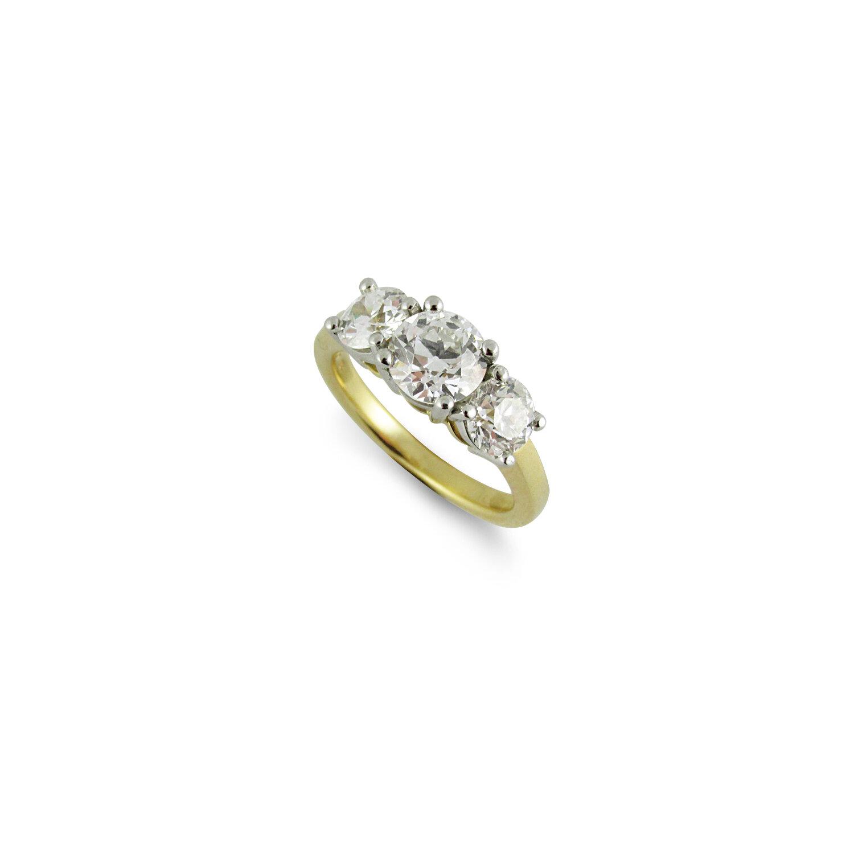 Copy of Old European Cut diamond ring
