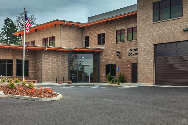 Troutdale Police Station, Troutdale, Oregon