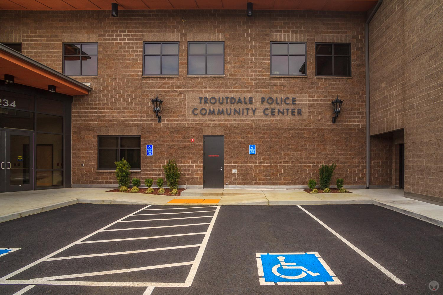 Troutdale Police Station, Troutdale, Oregon