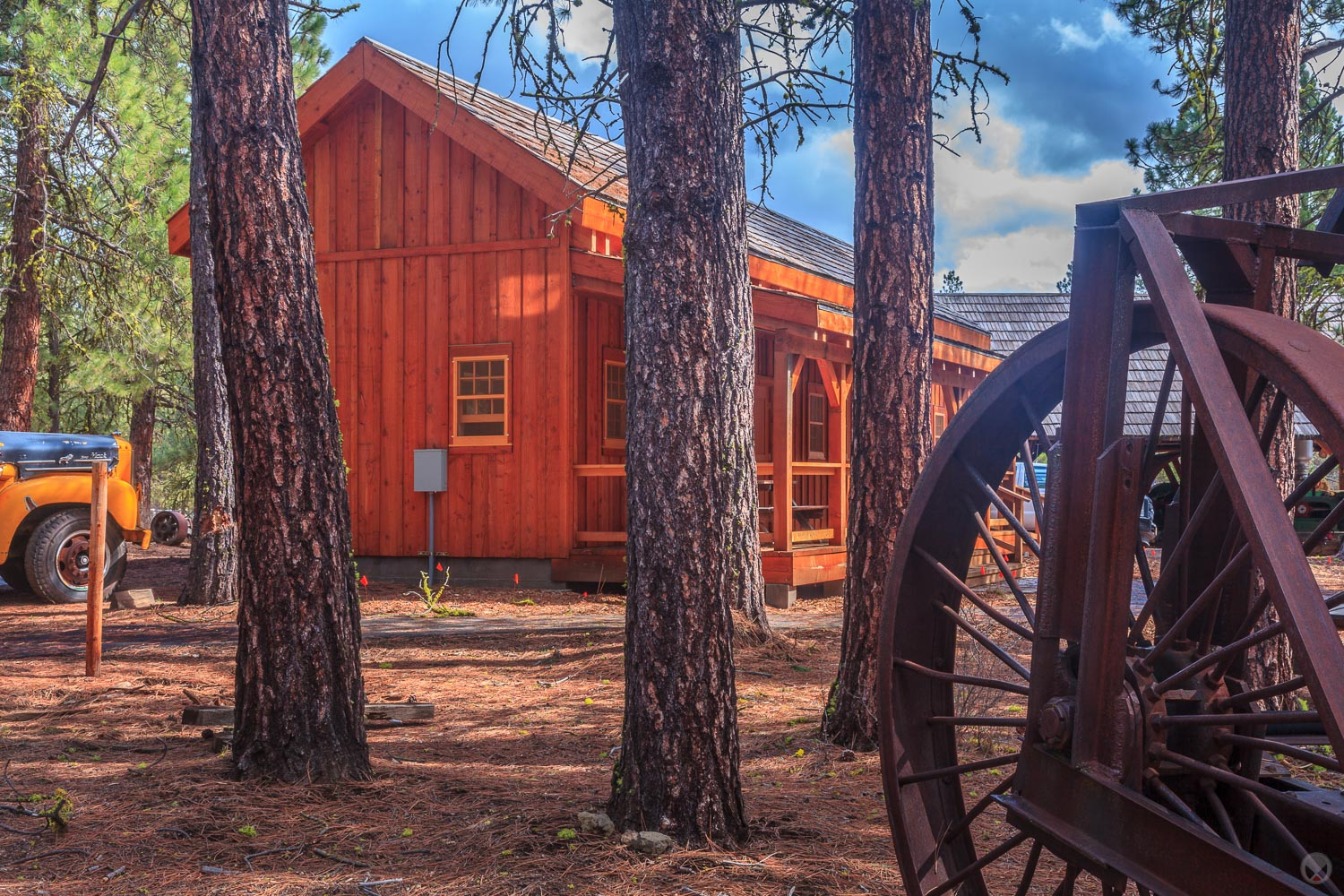 Interpretive Display Shelters & Pioneer Village Structures, Coll