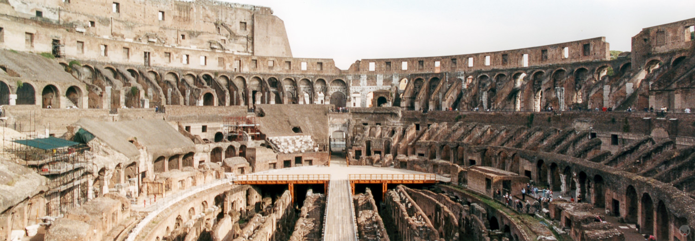 Flavian Amphitheatre, Rome, Italy