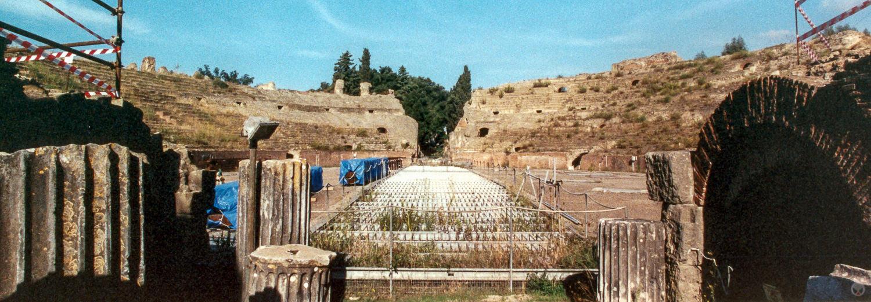 Flavian Amphitheatre, Puteoli (present day Pozzuoli), Italy