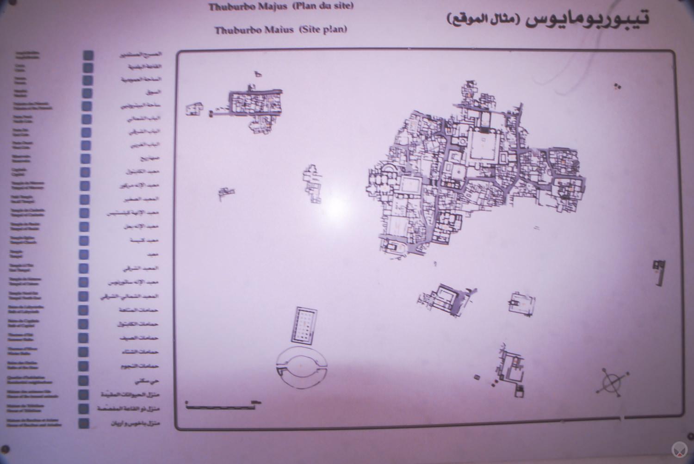 Thurburbo Majus, Tunisia