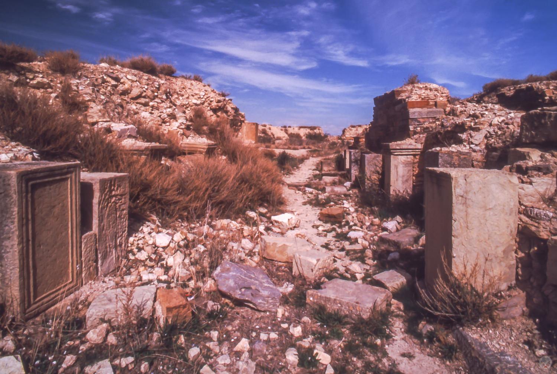 Amphitheatre, Thurburbo Majus, Tunisia