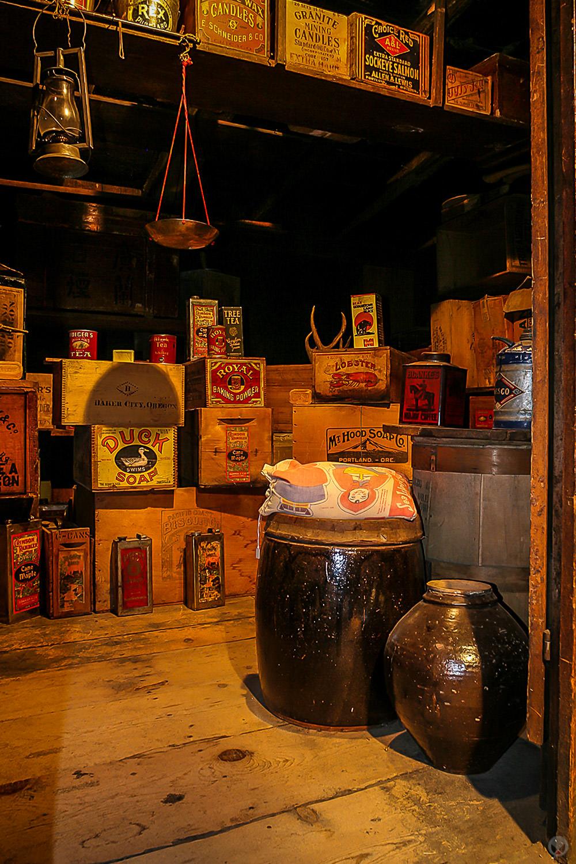 Storeroom,Kam Wah Chung & Co. Museum, John Day, Oregon