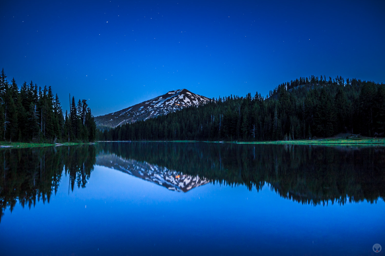 Todd Lake, central Oregon