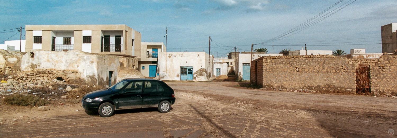 The streets of Mos Eisley, Ajim, Tunisia