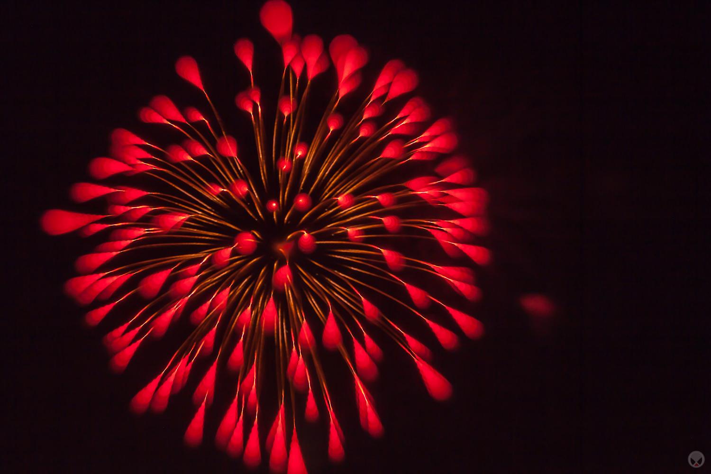Fourth Of July Fireworks Over Redmond, Oregon