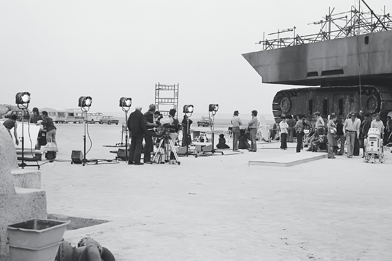 The Lars Homestead set, Chott El D'Jerid, Tunisia