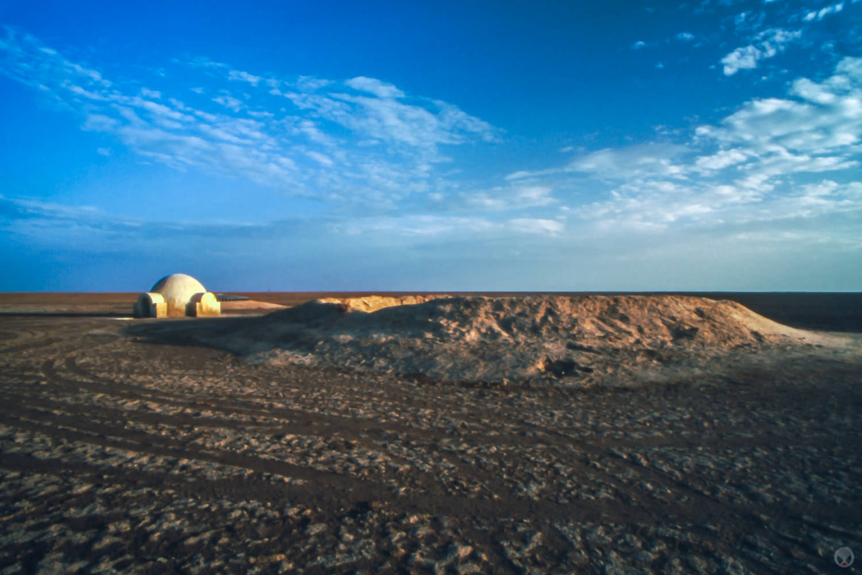 Lars Homestead set, Chott El D'Jerid, near Nefta, Tunisia