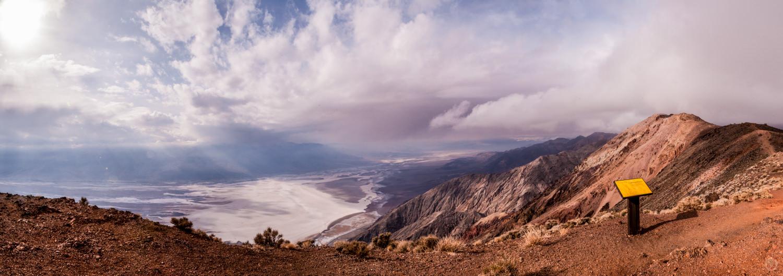Dante's View Panorama, February 2008